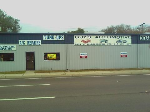 Auto repair in Tampa, look out because Guy's Automotive is dominating Tampa