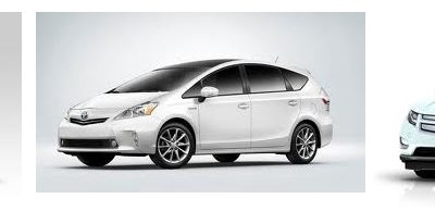 Ford Fusion, Toyota Prius and Chevrolt Volt are the Top U.S. Hybrid Picks of 2012